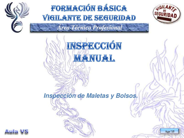 TP13 64 - Inspeccion Manual De Maletas