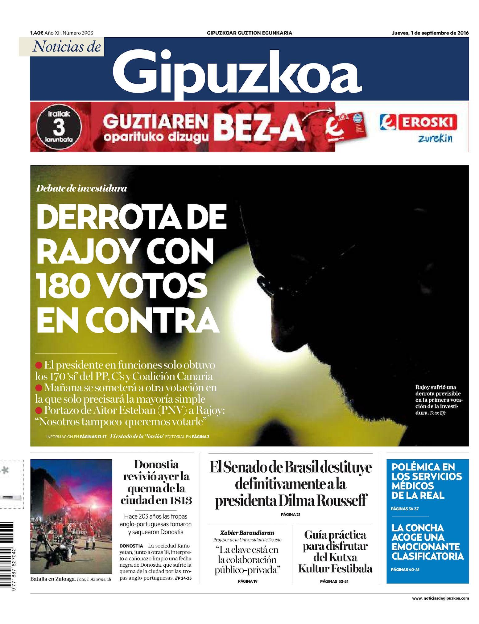 Calaméo - Noticias de Gipuzkoa 20160901