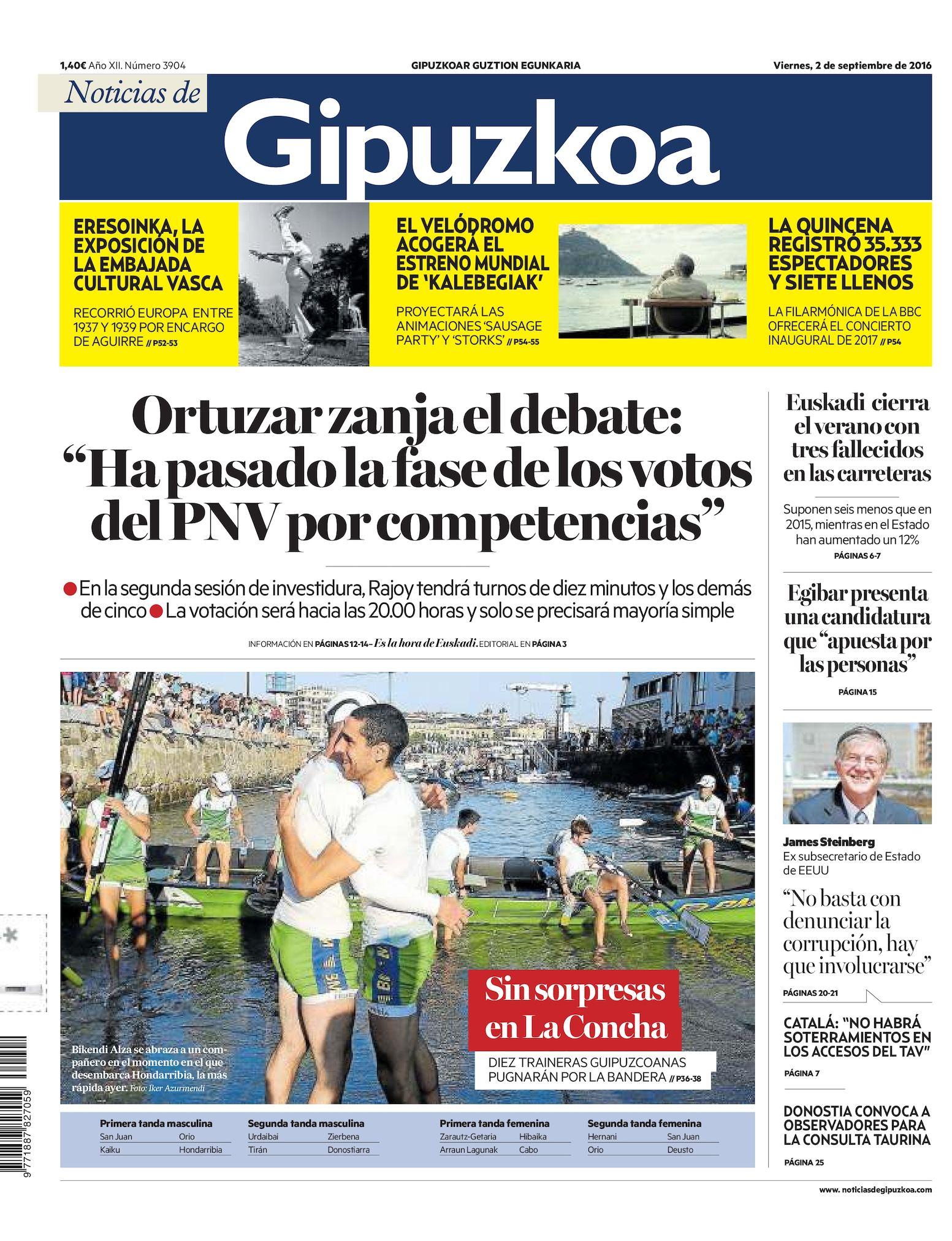 Calaméo - Noticias de Gipuzkoa 20160902