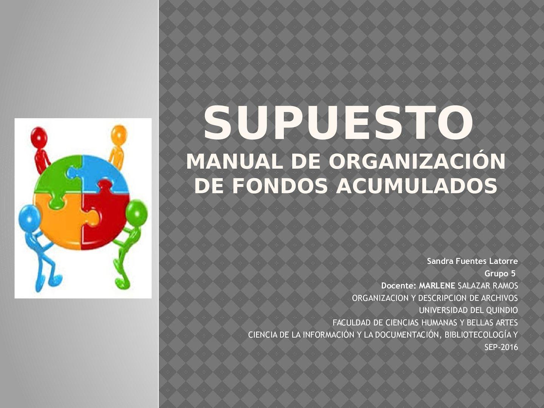 manual de organizacion de la sep