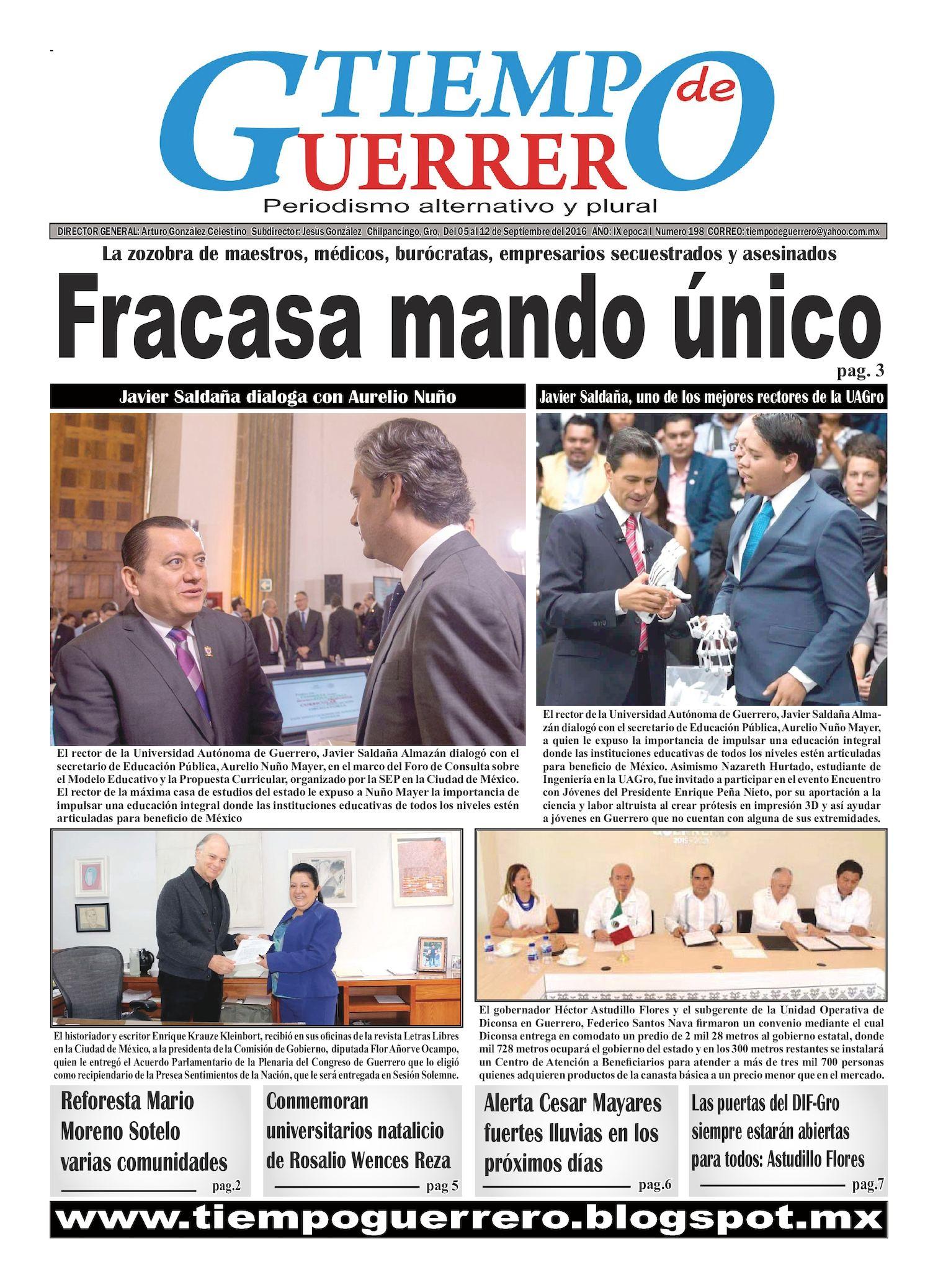 Calaméo - Semana 05 al 12 de Septiembre 2016