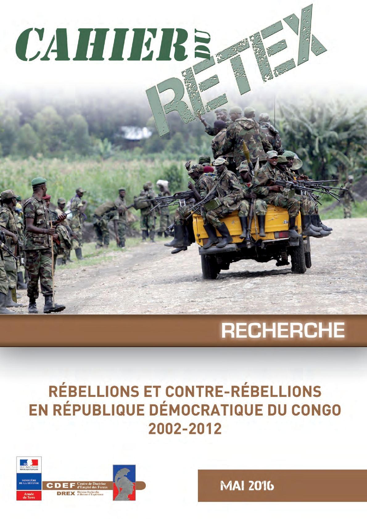 Rébellions et contre-rébellions en République Démocratique du Congo 2002-2012
