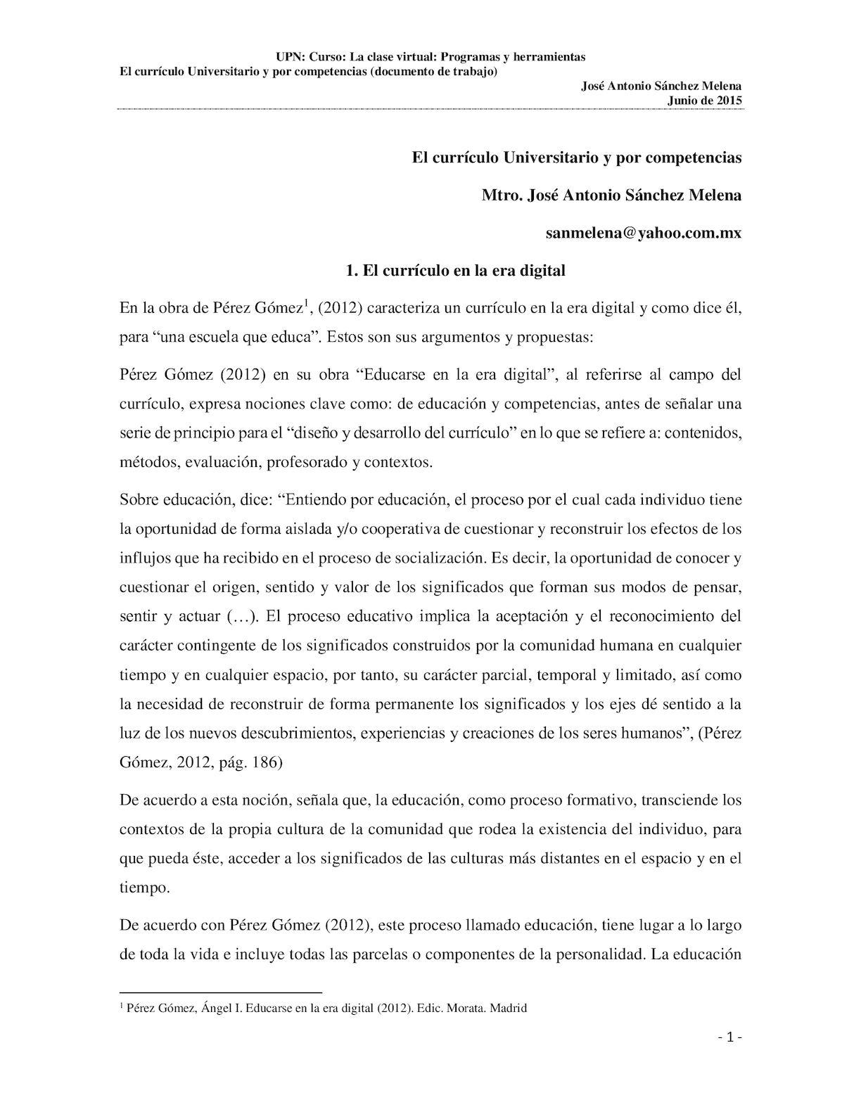 Calaméo - El Curriculo Universitario Y Por Competencias(3)