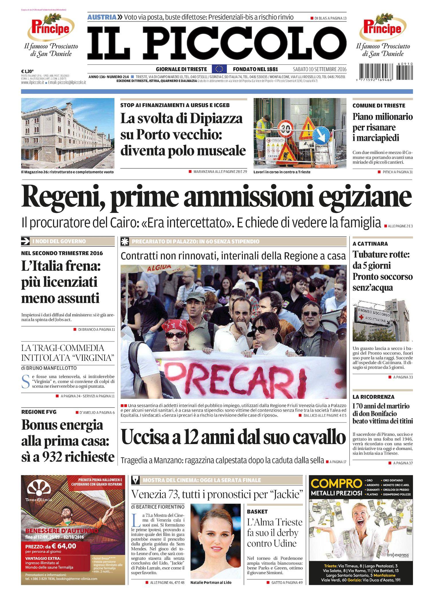 Calaméo Il Piccolo Di Trieste 2016 09 10
