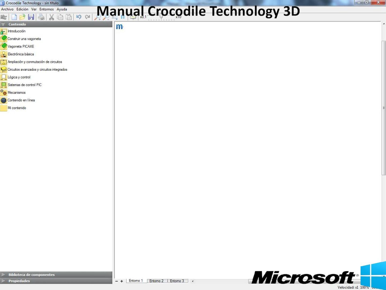 Crocodile Technology 3D y 2D Manual de uso