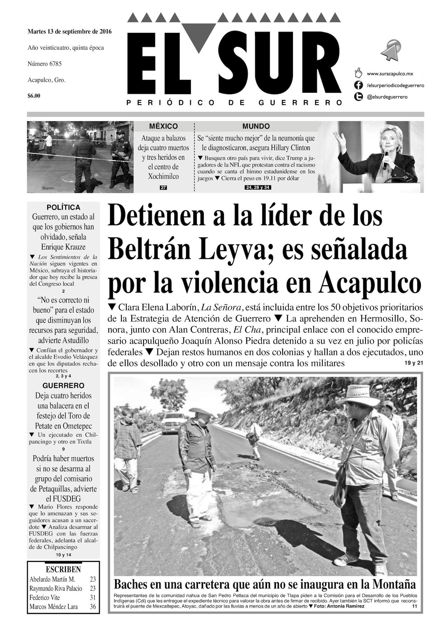 Calaméo - El Sur Martes 13092016