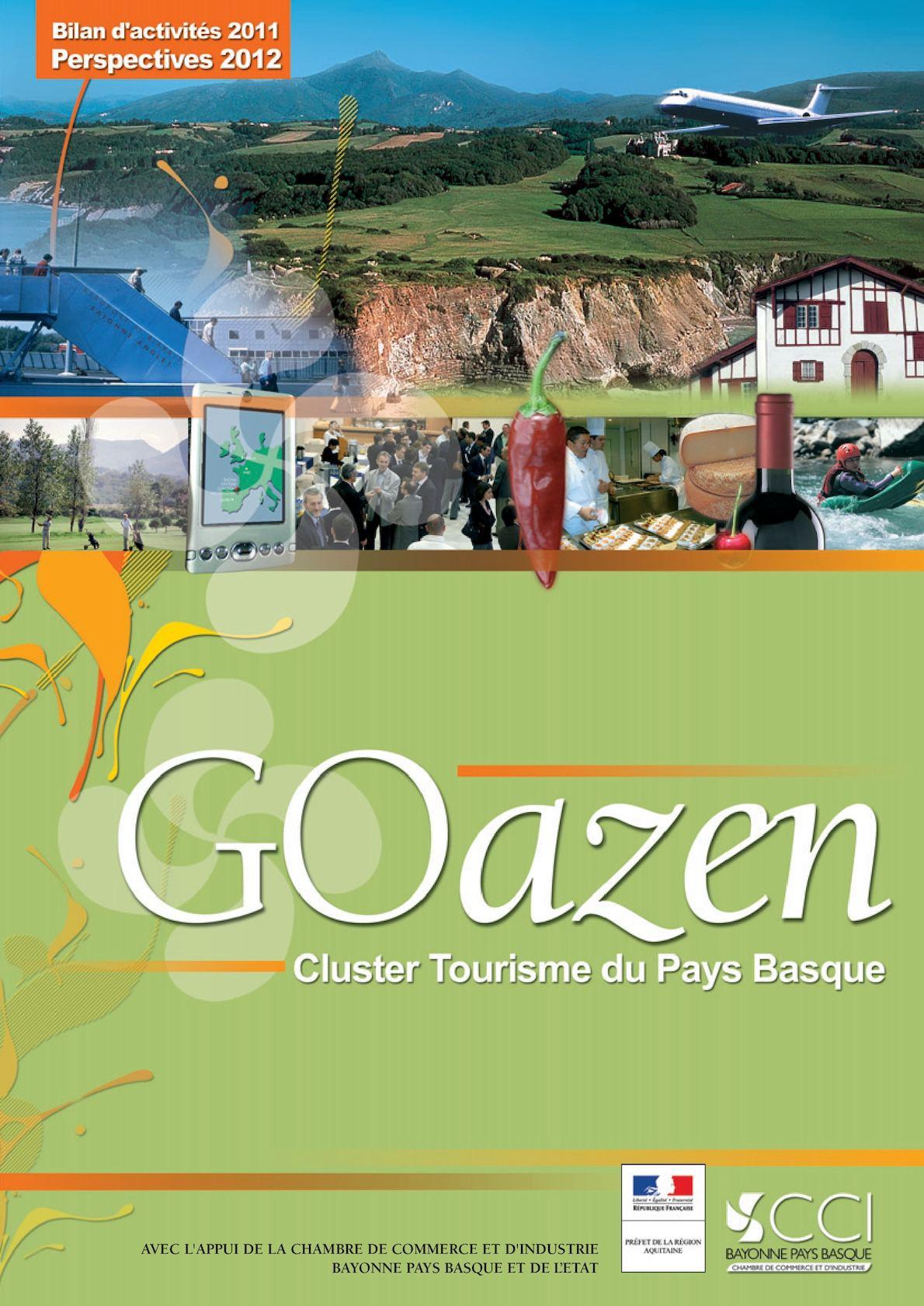 Cluster tourisme pays  basque