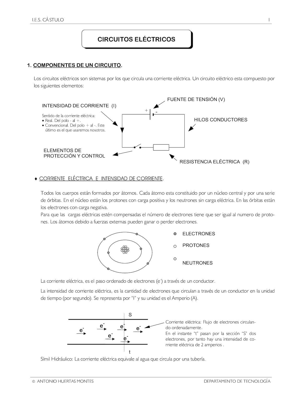 Circuito Hidraulico Mixto : Calaméo circuitos electricos