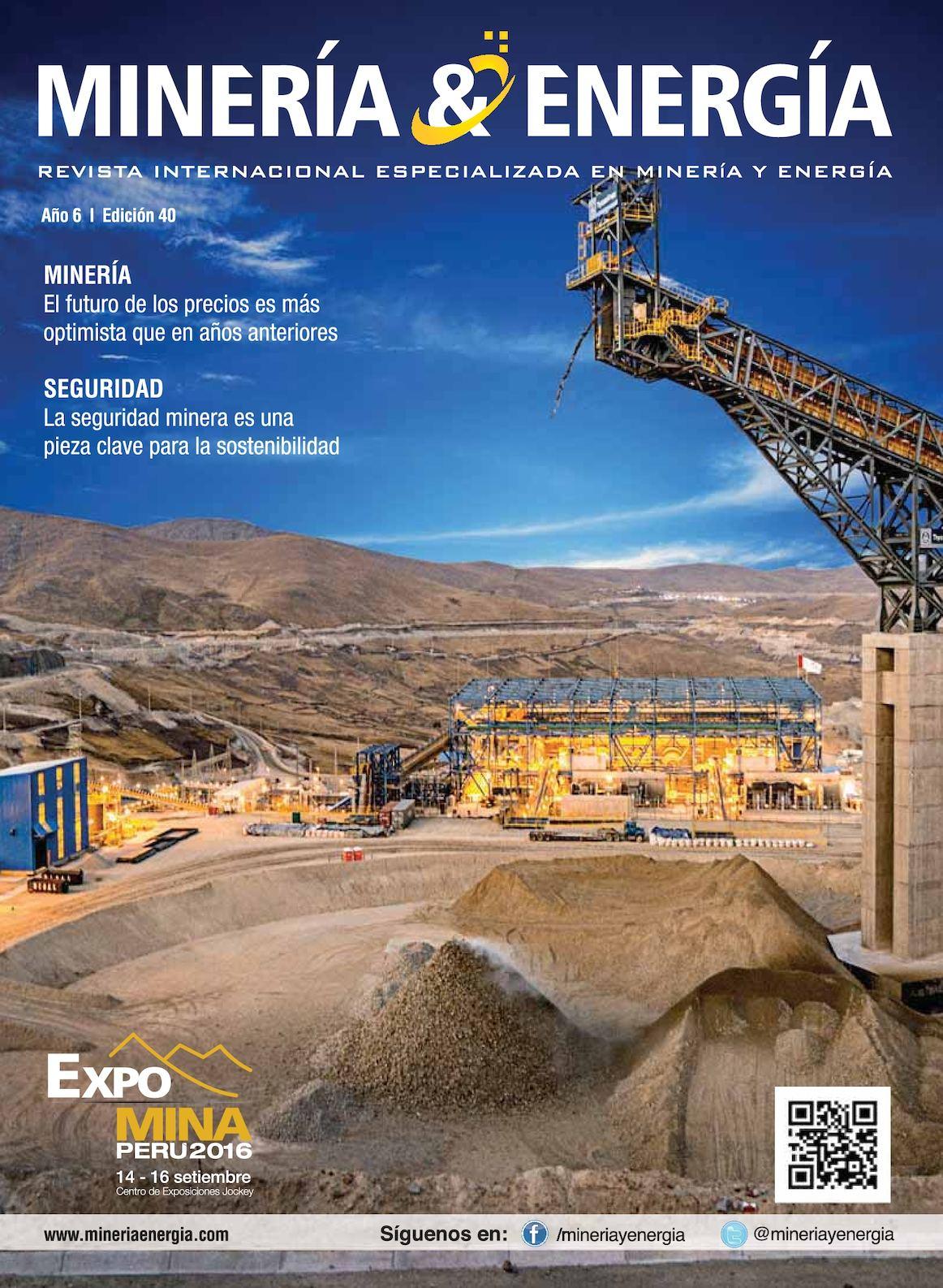 Revista Minería y Energía Edición Nº 40