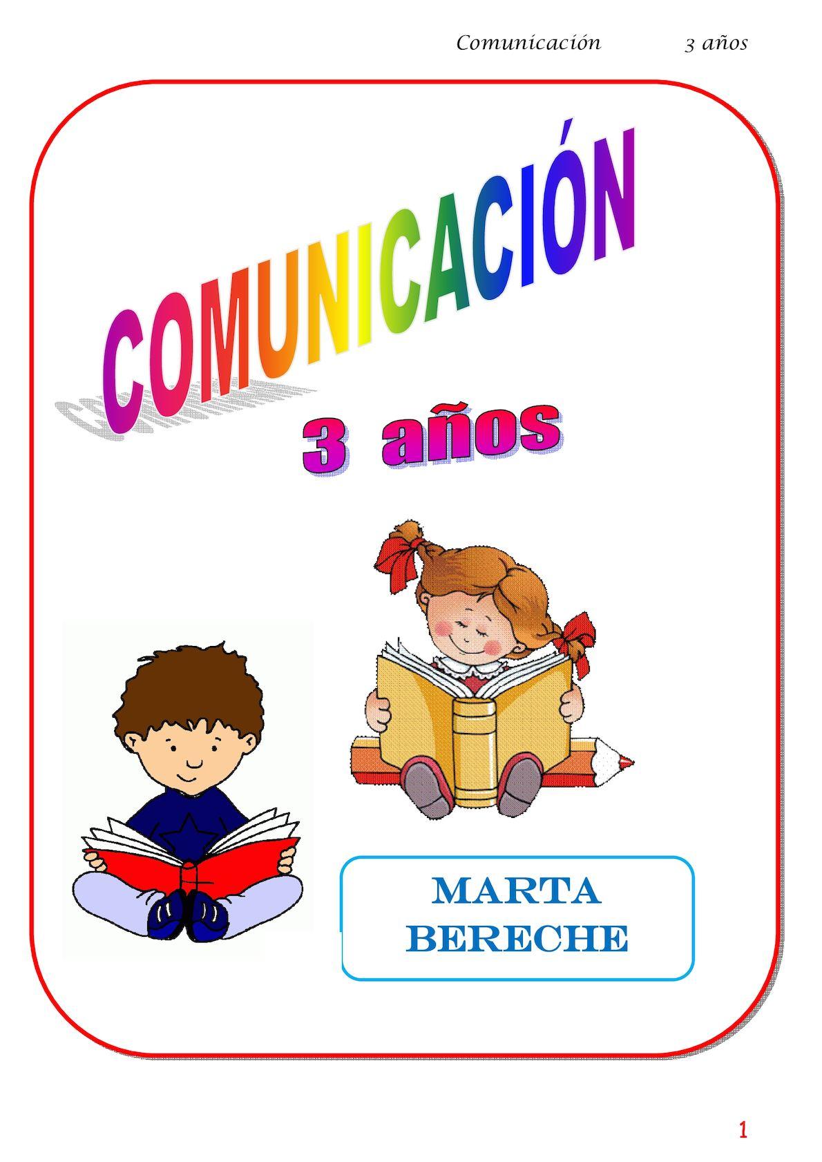 Comunicacion 3 Años