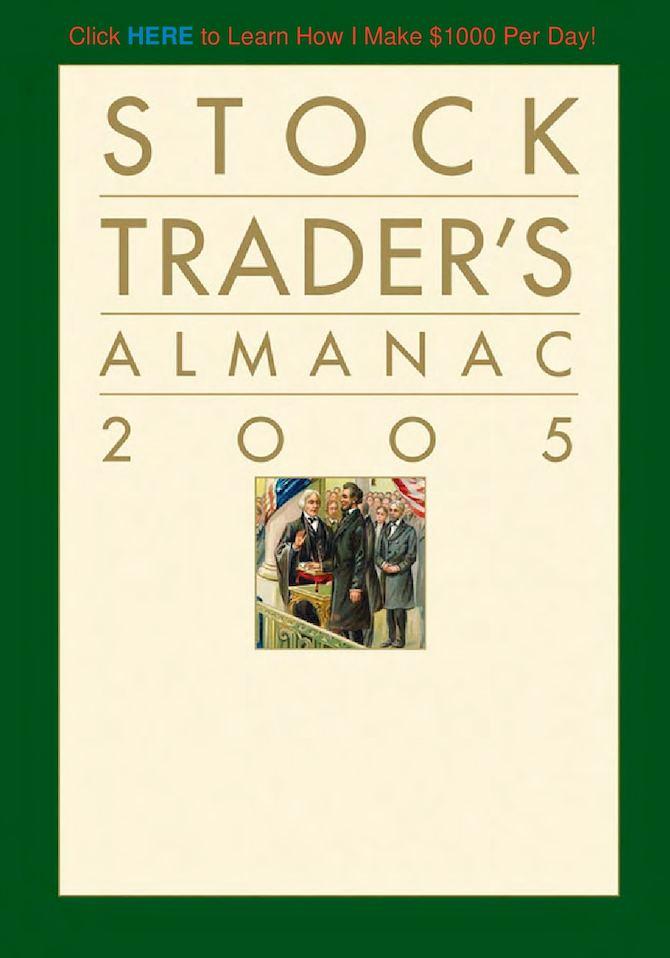 Yale Hirsch - Stock Traders Almanac 2005