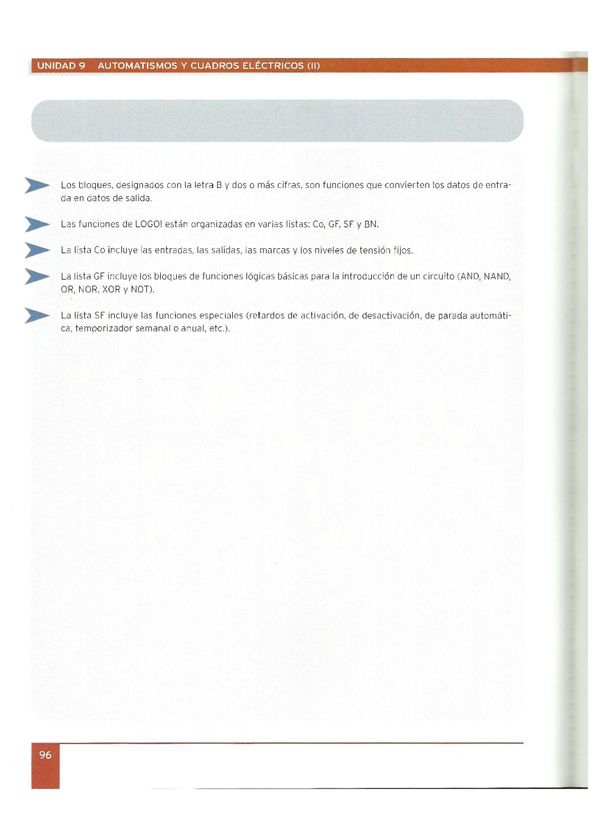 Circuito And : Curso 9 automatismos y cuadros electricos ii vaf calameo