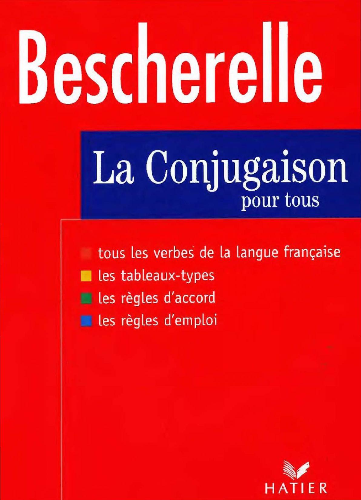 Bescherelle De Conjugaison