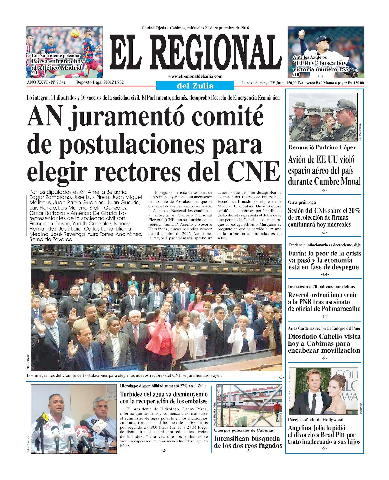 Calaméo - El Regional del Zulia 21-09-2016
