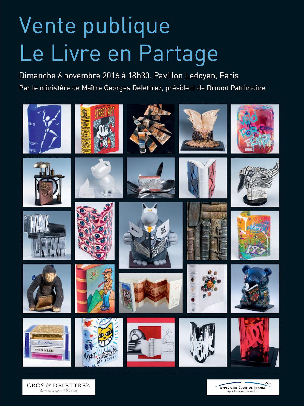 Calam o catalogue de la vente livre en partage for Vente lieu atypique paris