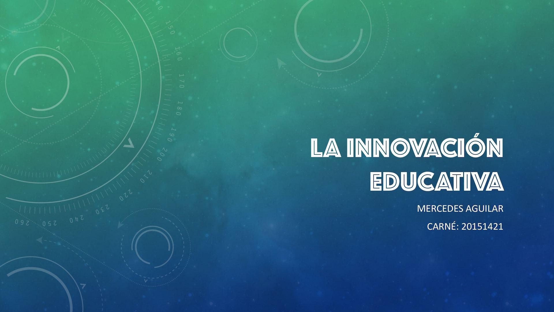 Mercedes Innovación Educativa