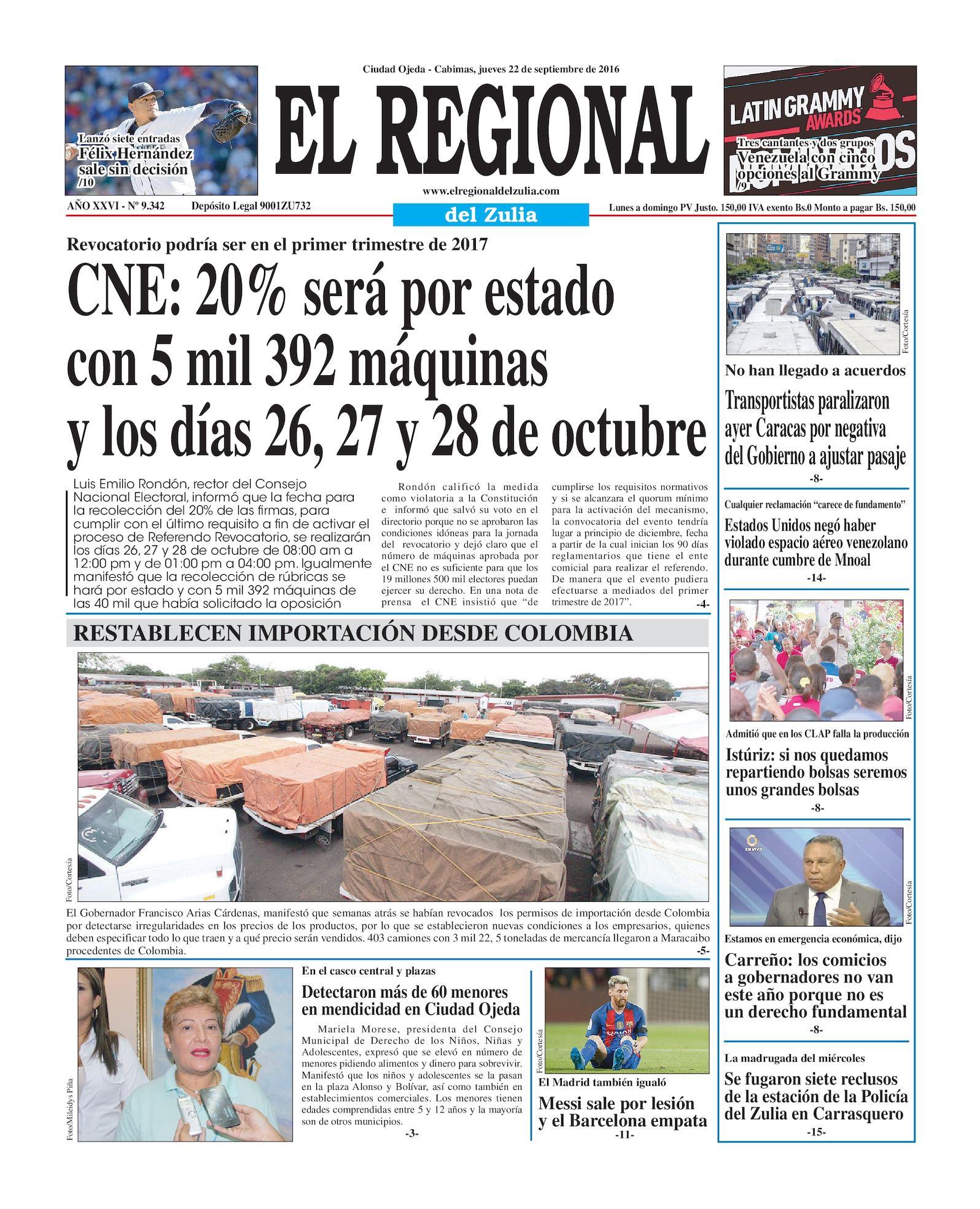 Calaméo - El Regional del Zulia 22-09-2016