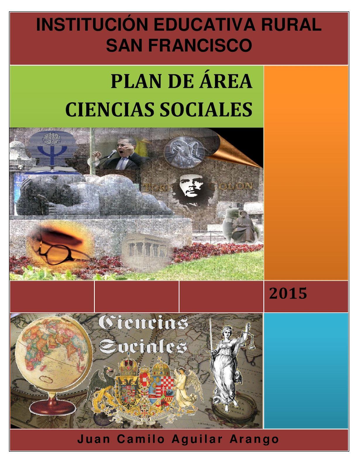 Plan De Area Ciencias Sociales San Francisco
