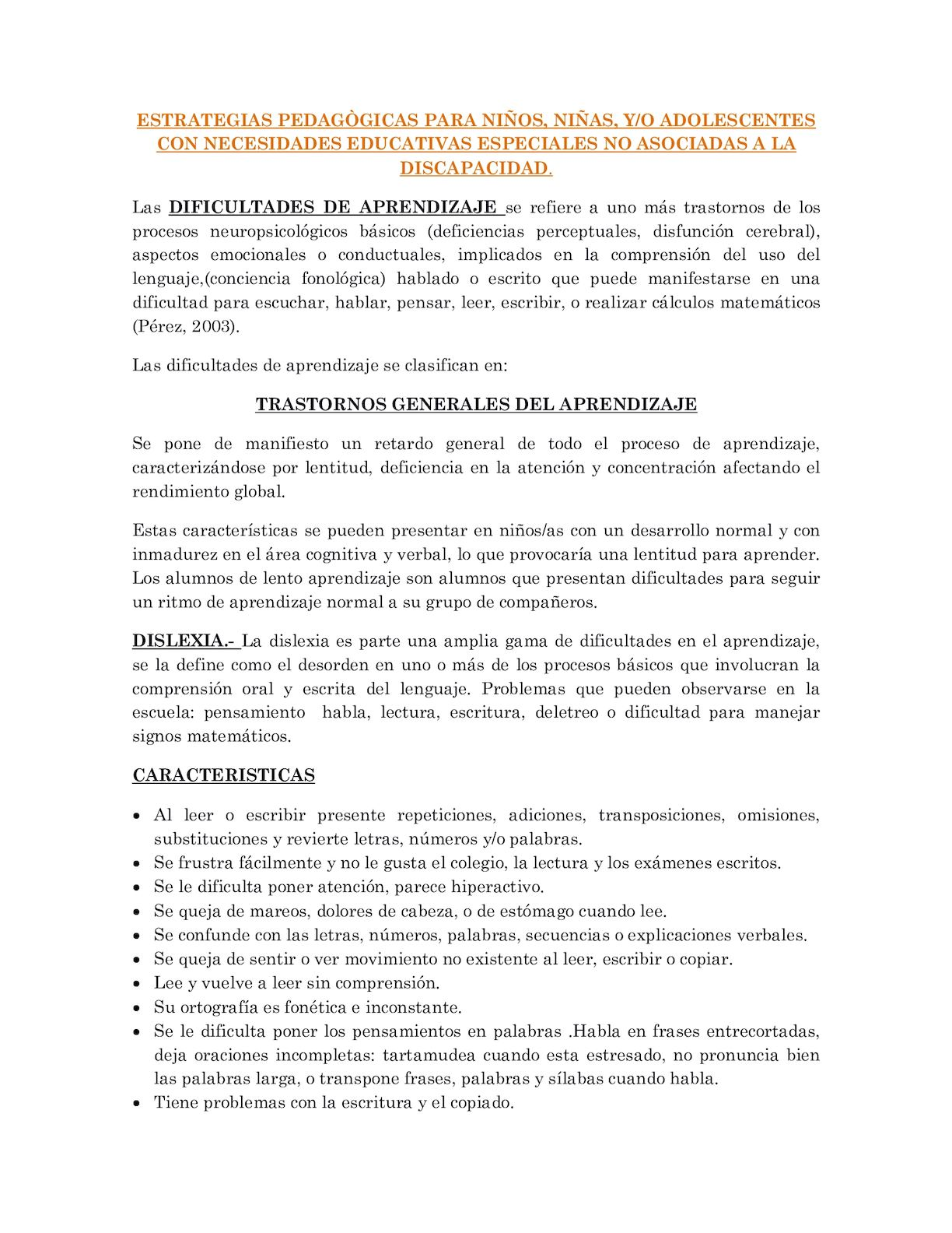 Calaméo - Adaptaciones Estrategias Pedagògicas Para Niños
