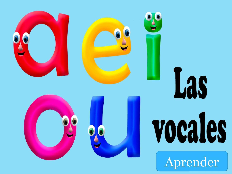Trabajo Diapositiva Ova Las Vocales