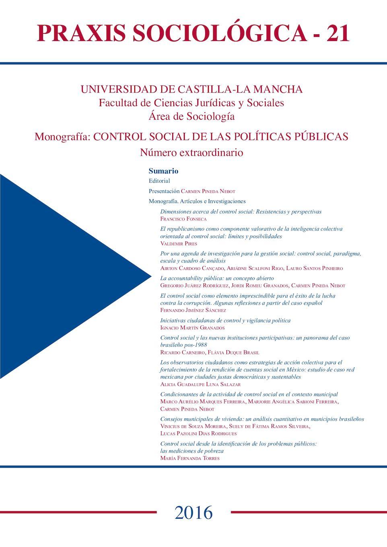 Calaméo - Praxis Sociológica nº21