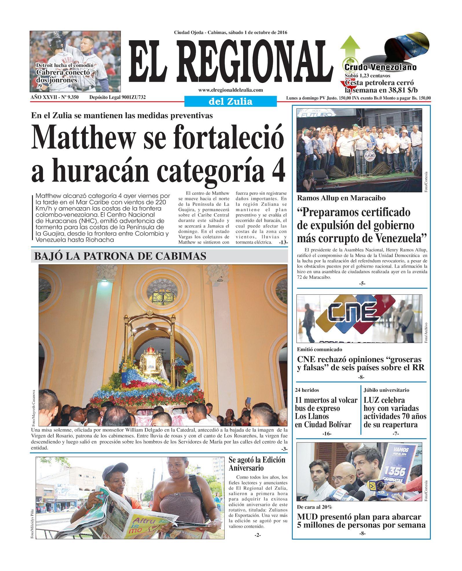 Calaméo - El Regional del zulia 01-10-2016