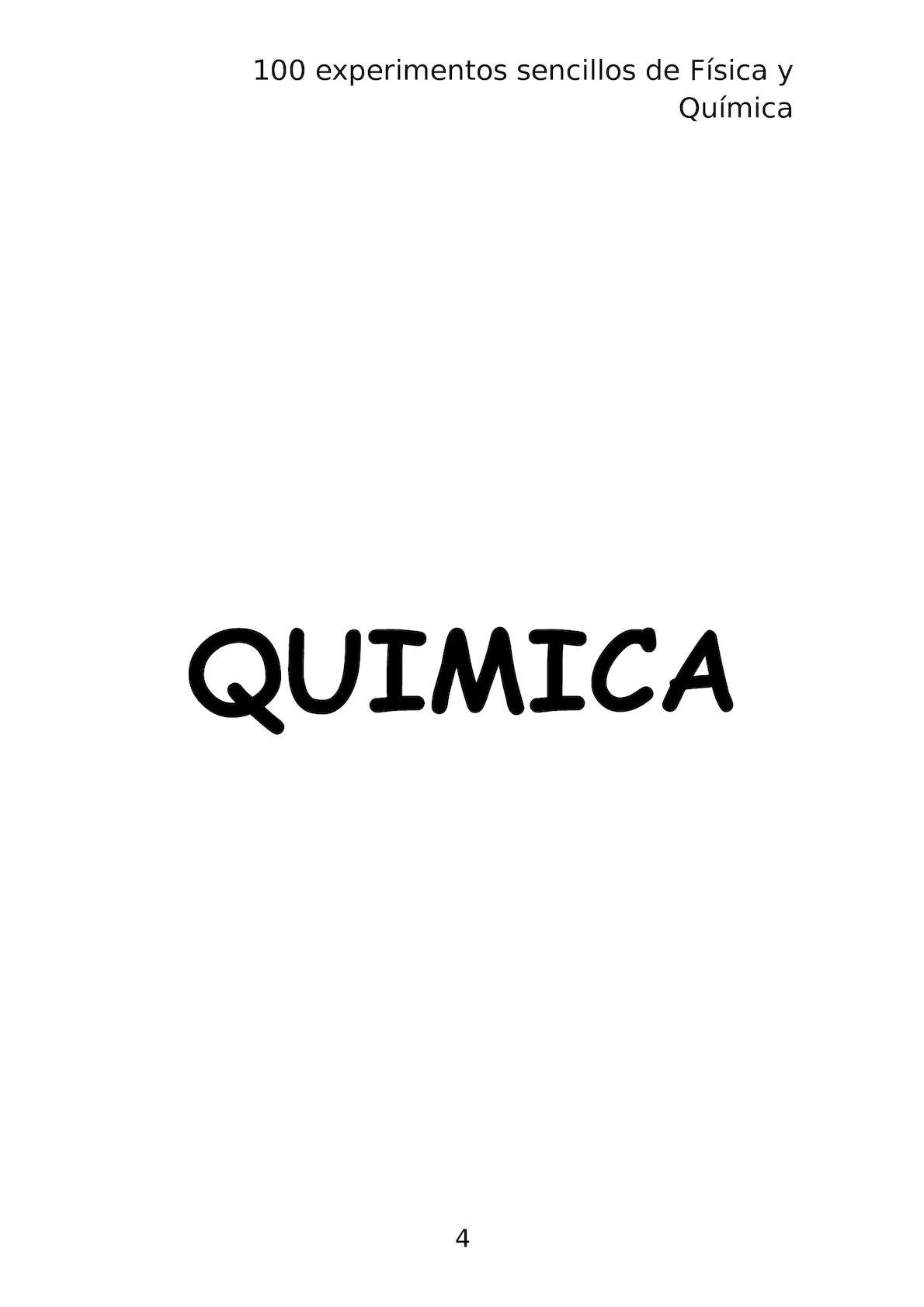 Libro Experimentos Sencillos De Fisica Y Quimica - CALAMEO Downloader