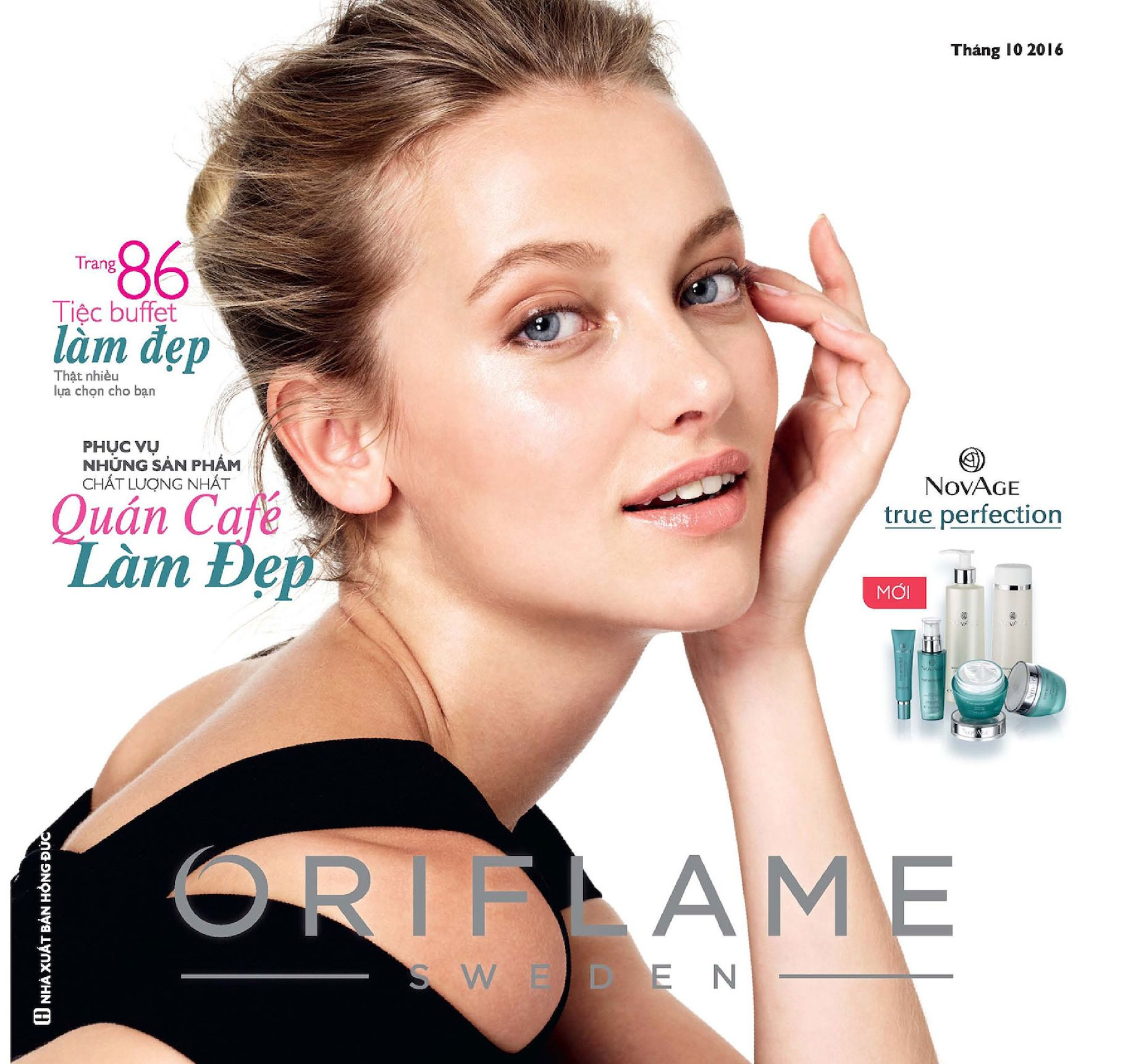 Catalogue My Pham Oriflame 10-2016