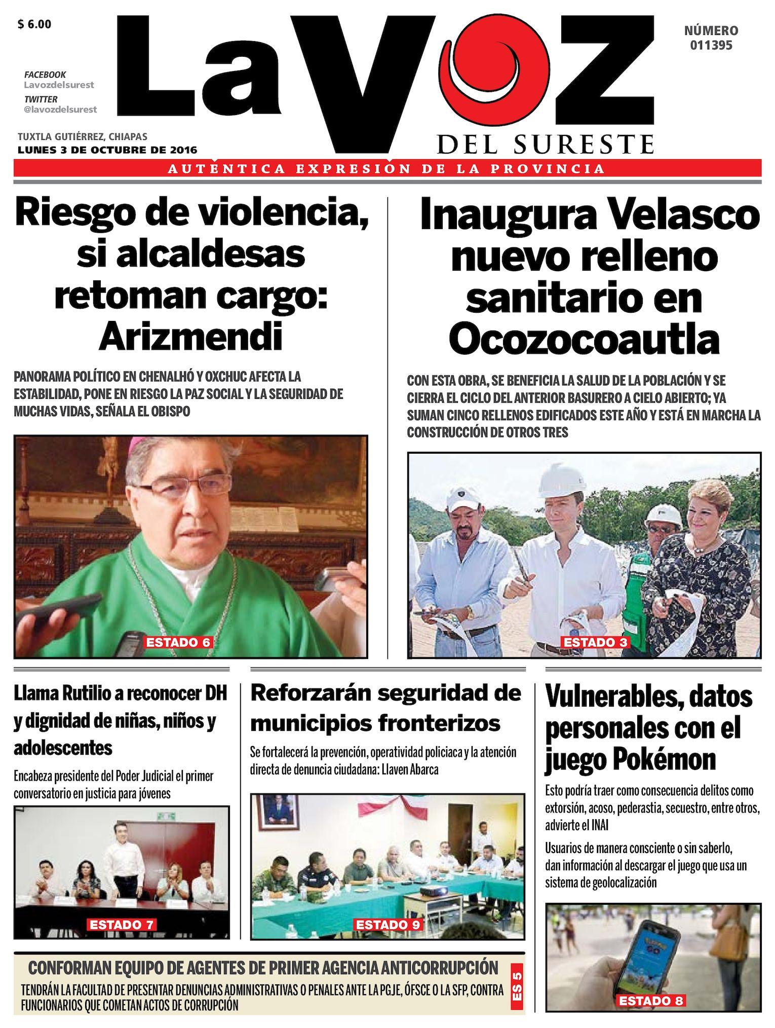 30280c6b584 Calaméo - Diario La Voz del Sureste