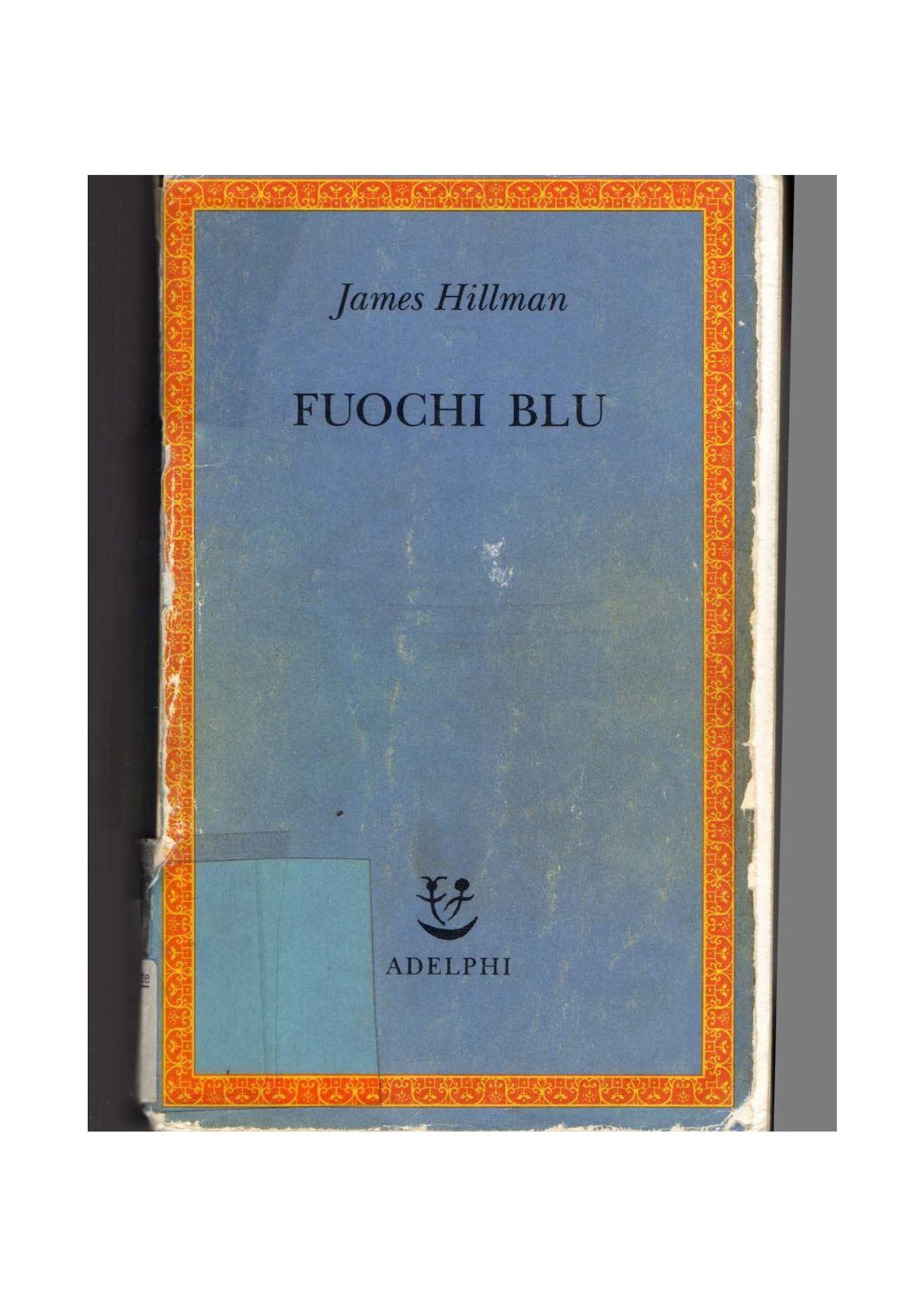 James Hillman Fuochi Blu