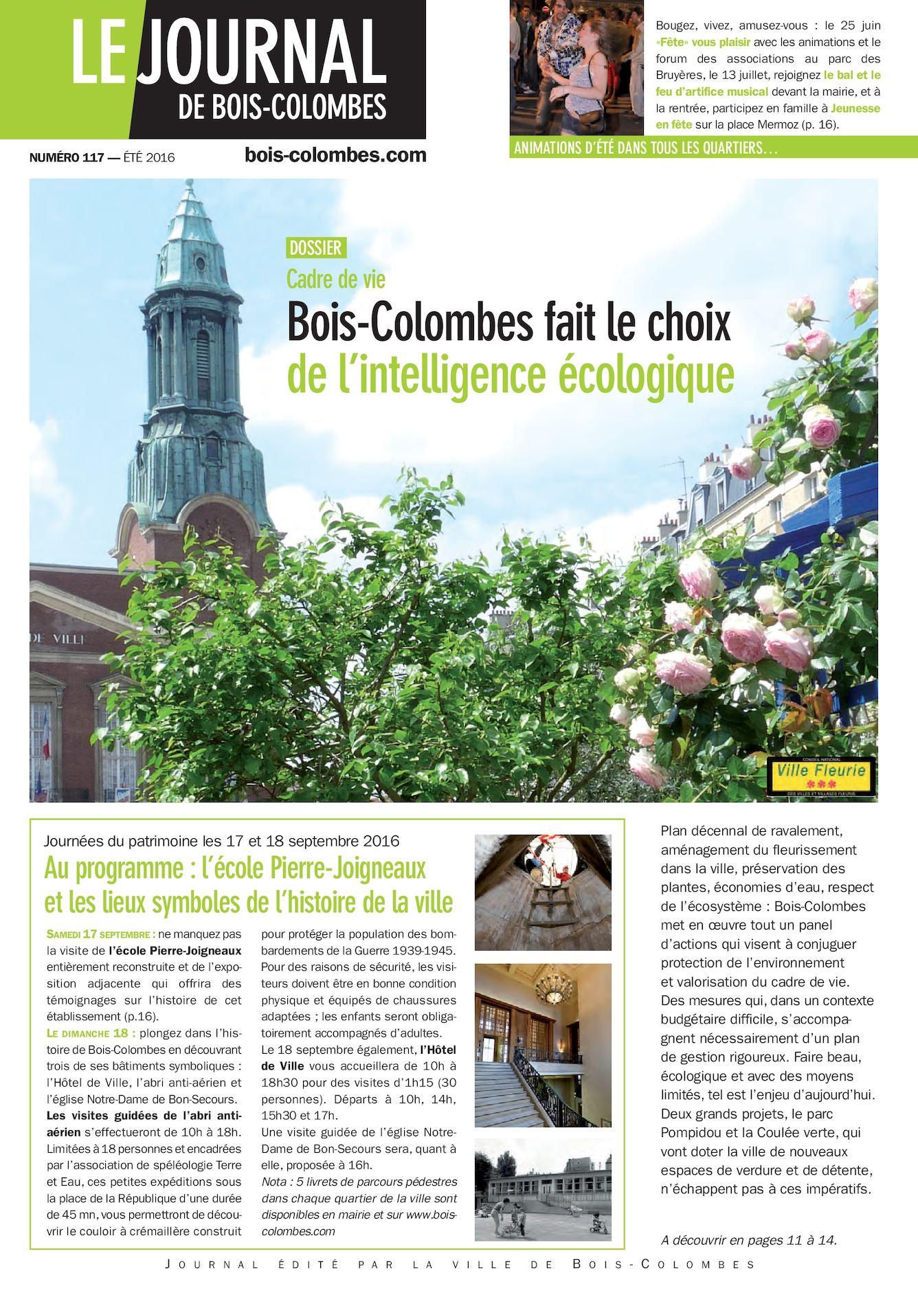 Calaméo Journal de Bois Colombes JBC n u00b0117ÉTÉ 2016 # Aviva Vie Bois Colombes
