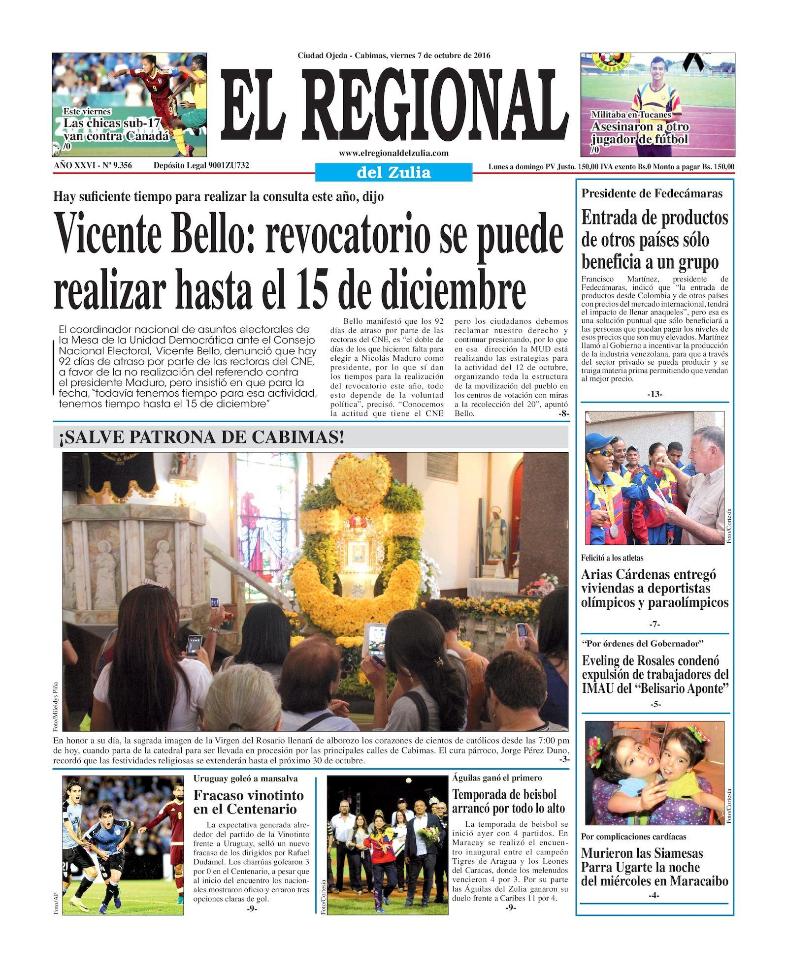 Calaméo - El Regional del Zulia 07-10-2016