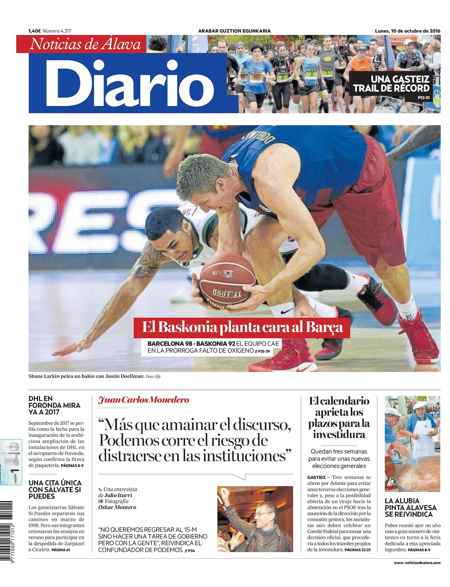 Calaméo Diario De Noticias De álava 20161010