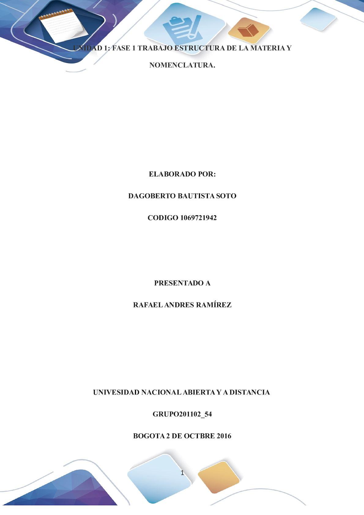 Formato Entrega Trabajo Colaborativo – Unidad 1 Fase 1 Trabajo Estructura De La Materia Y Nomenclatura Grupo 201102 54