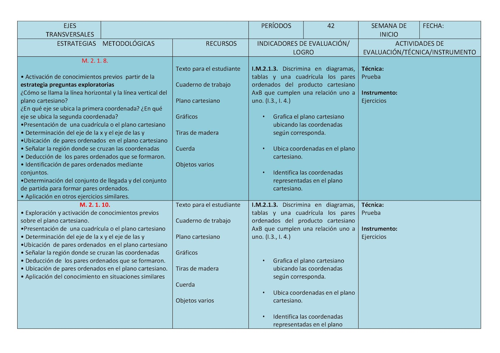 Pud Matematica Cuarto - CALAMEO Downloader