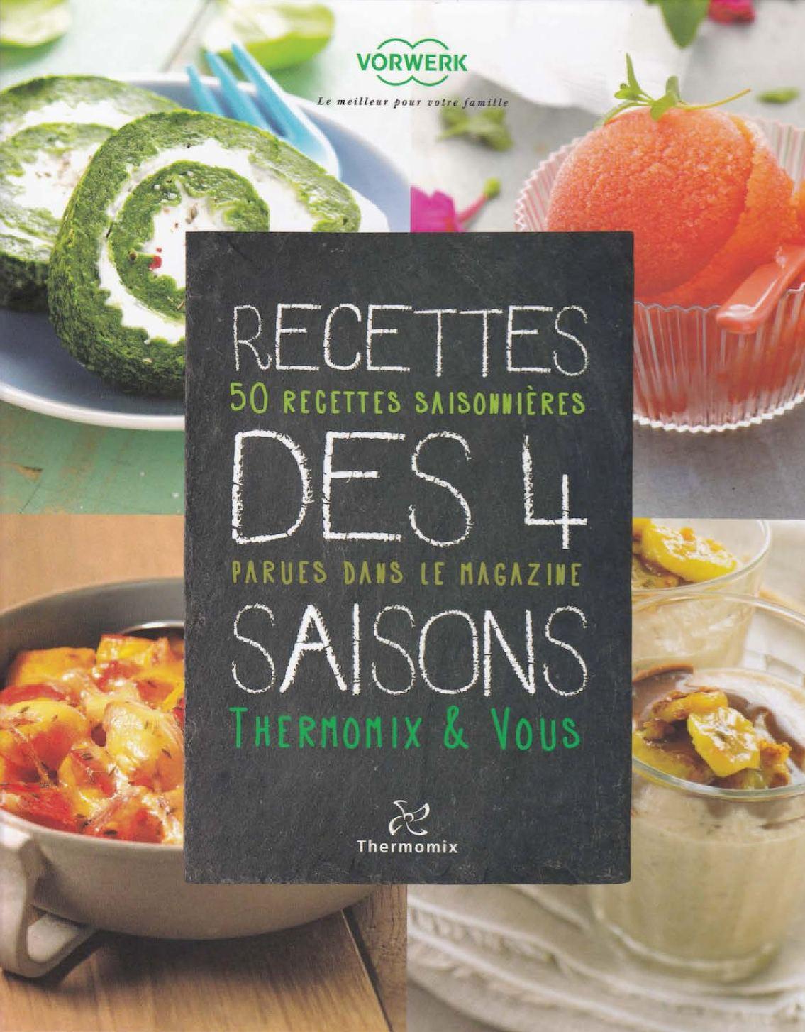 Calam o recettes des 4 saisons - Livre de cuisine thermomix d occasion ...