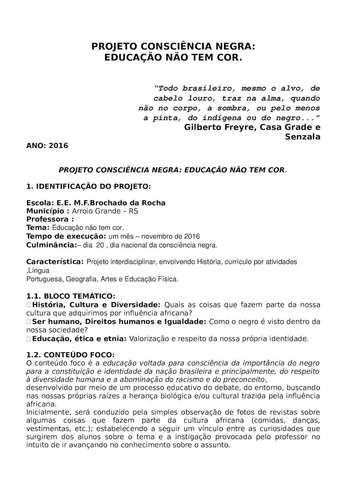 Extremamente Calaméo - Projeto Consciência Negra NR59