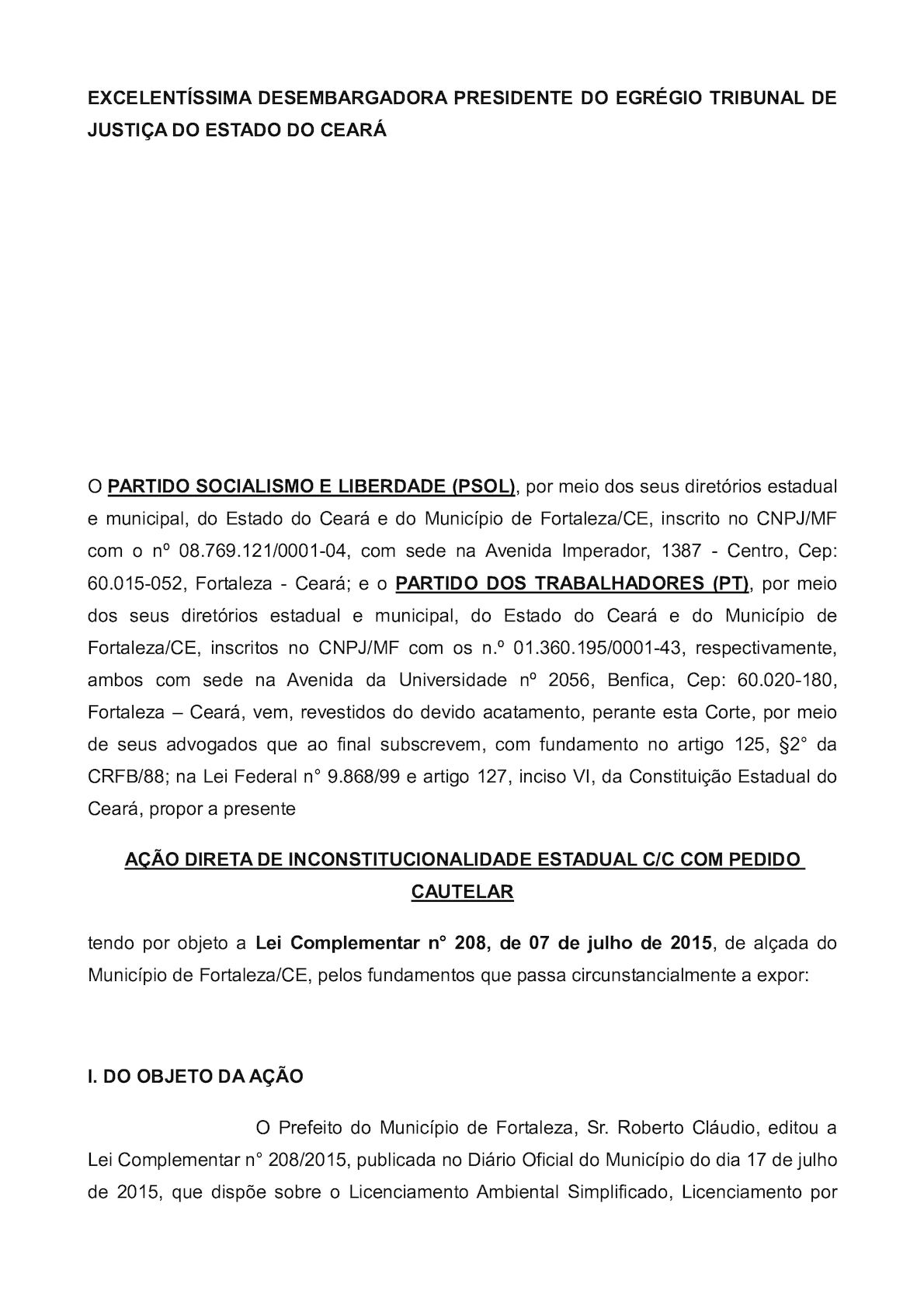 ADI Licenciamento Ambiental