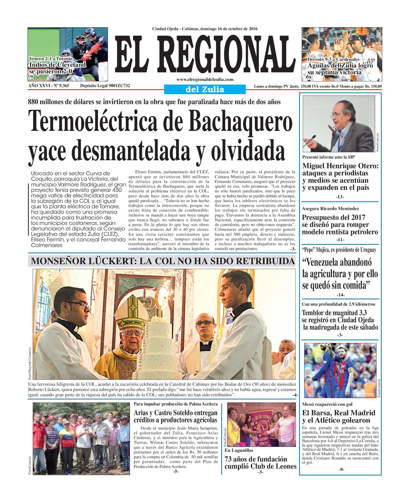 Calaméo - El Regional del Zulia 16-10-2016