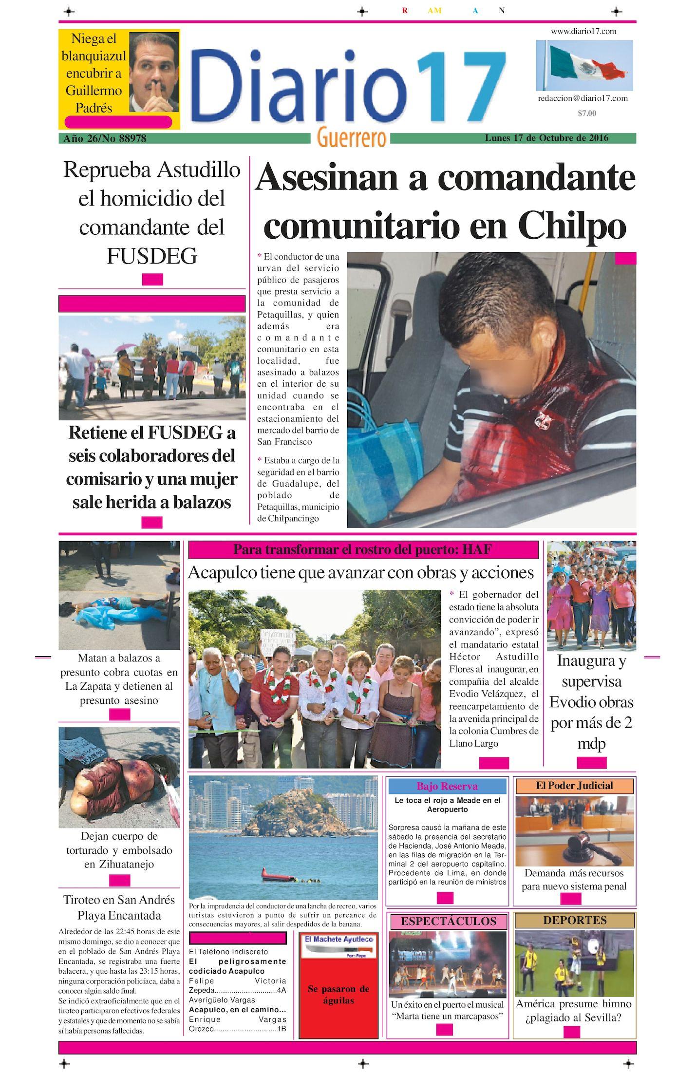 Calaméo - Diario 17 Acapulco