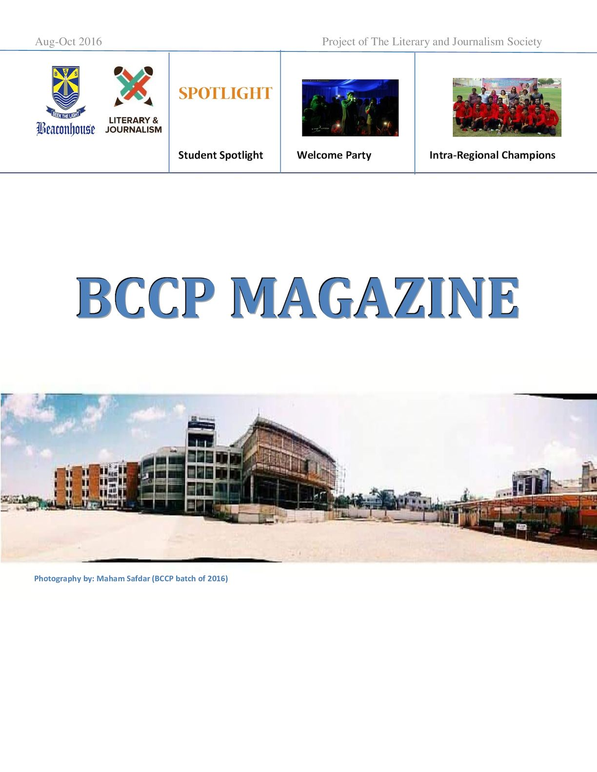 BCCP Magazine Aug-Oct