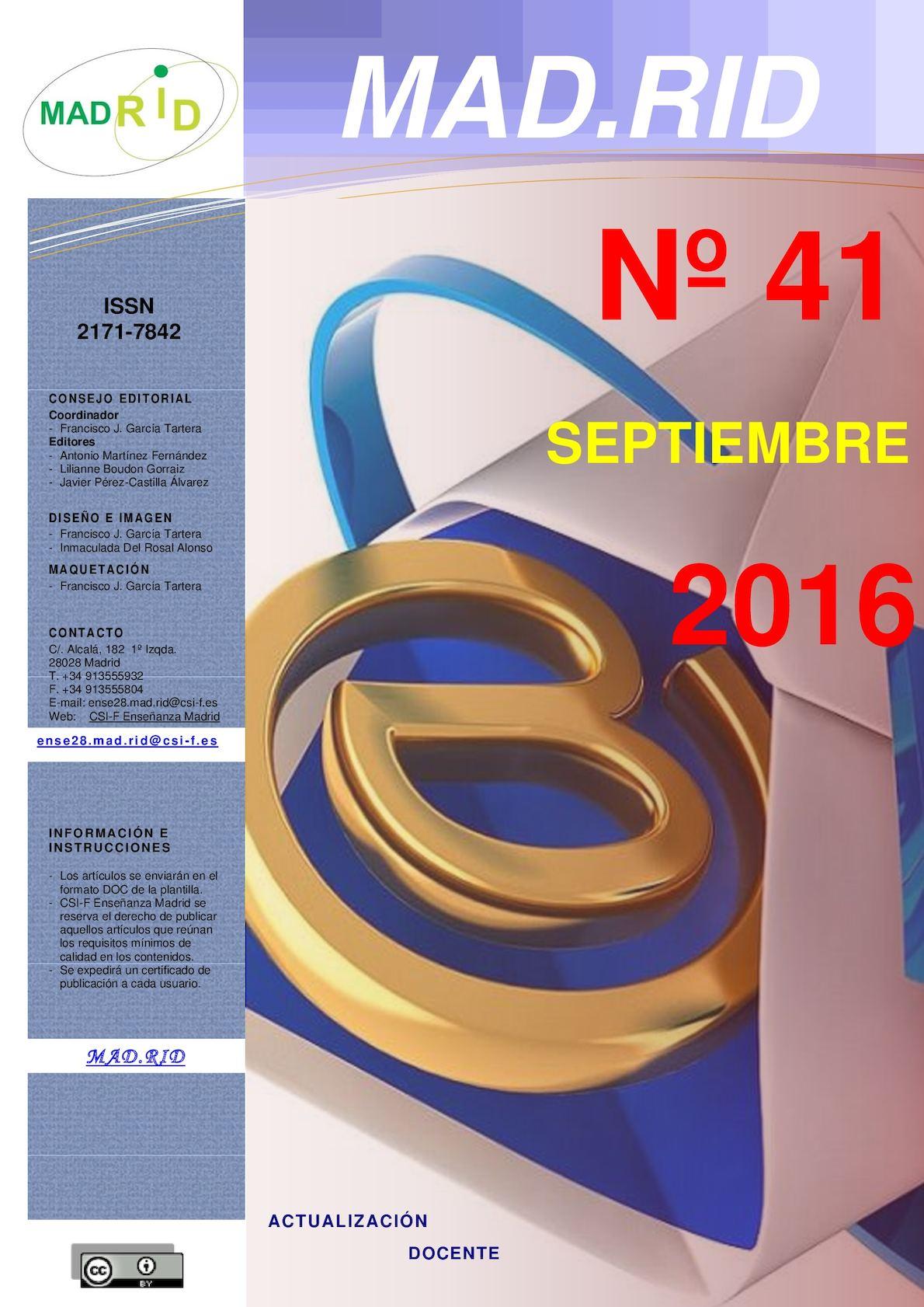Calaméo - 20160901 Mad·rid N41