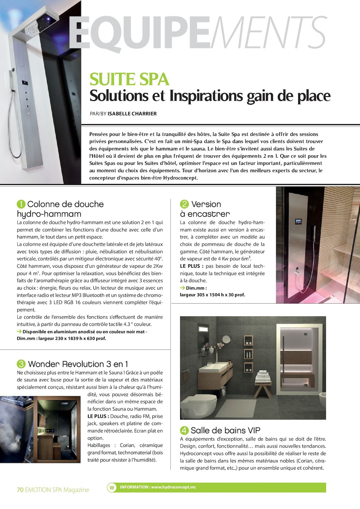 Emotion Spa Magazine 42 Calameo Downloader