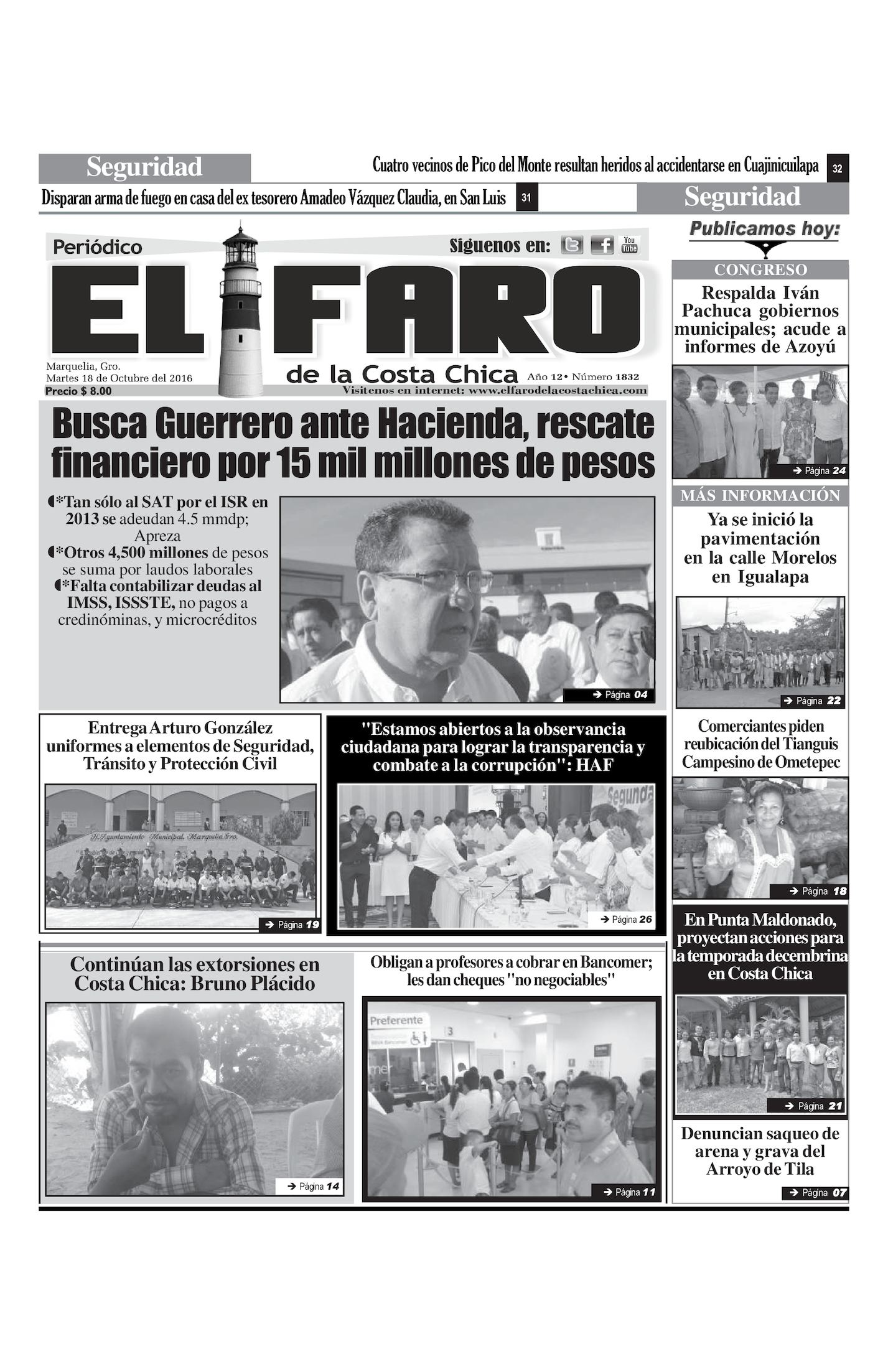 Calaméo - 18 de Octubre del 2016