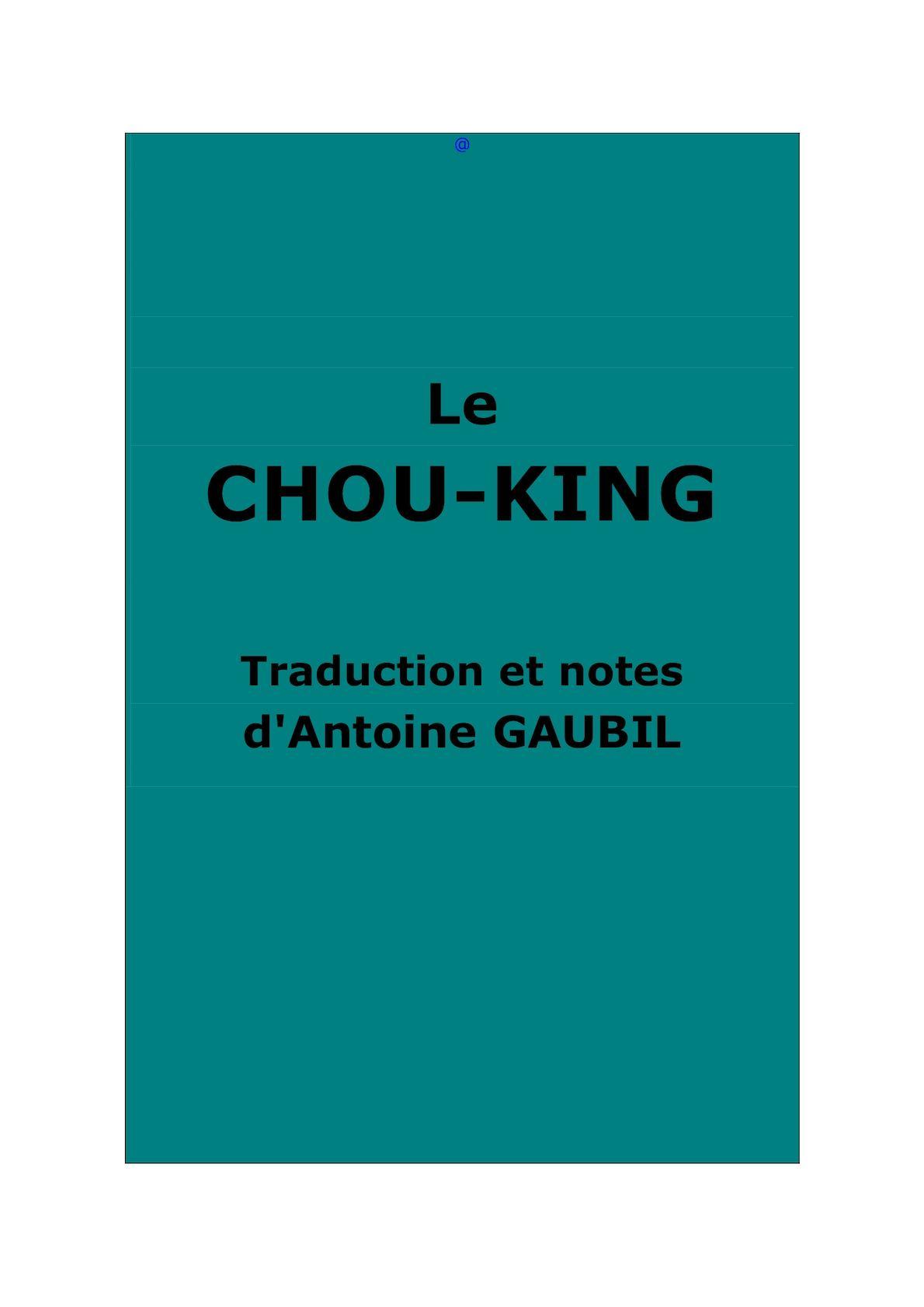Calaméo - Chou-king  Shu jing . Traduction A. Gaubil 7e327a16ecd