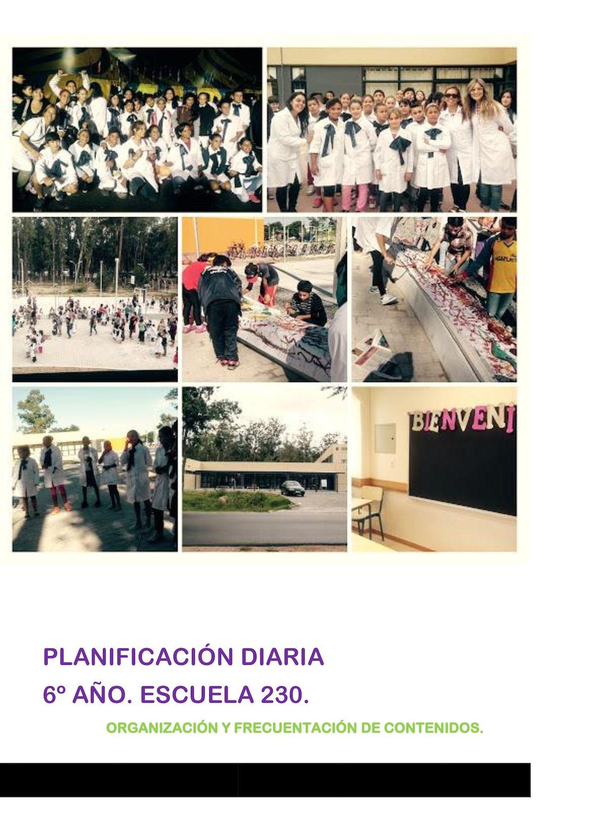 Planif 2016 Escuela 230