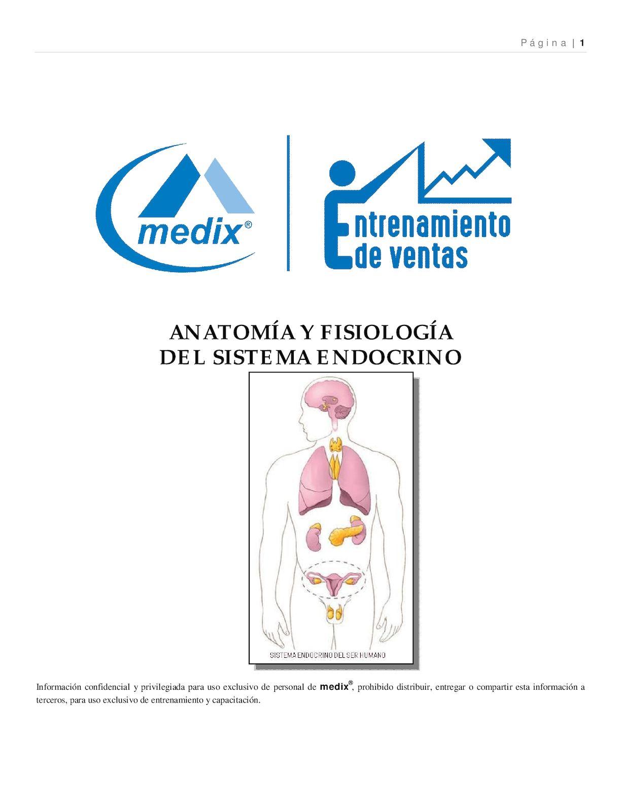 Manual De Entrenamiento Sistema Endocrino 1