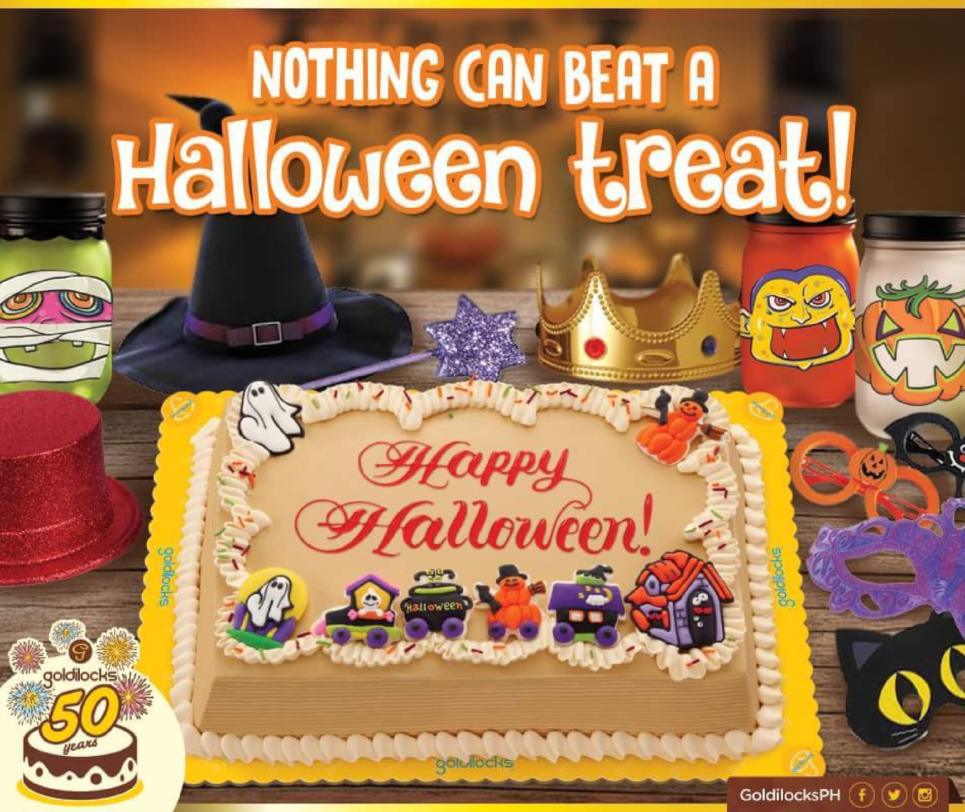 Calamo Treat Yourself Your Friends With A Halloween Greeting Cake