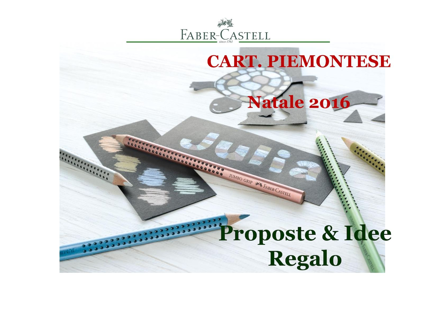 FABER CASTELL NATALE 2016