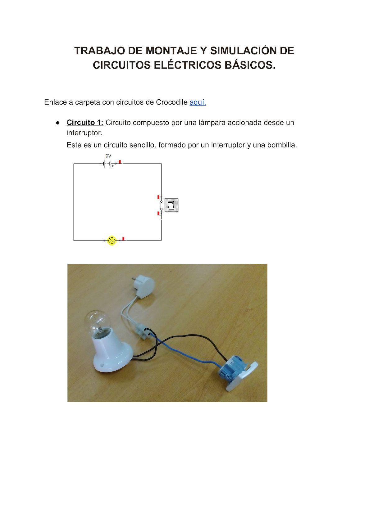 Circuito Basico : Calaméo circuitos
